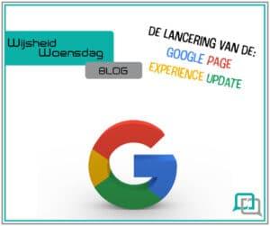 Doelbewust blog, de lancering van de google page experience update
